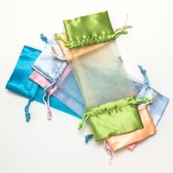 Bolsas de organdí - Color celeste