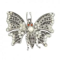 Broche mariposa para boda