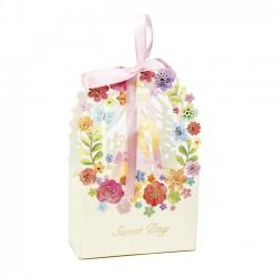 Caja de flores para regalos