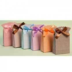 Caja para regalos con volante