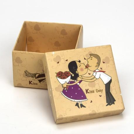 Caja para regalos novios - Decoracion de cajas ...