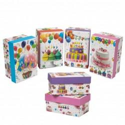 Cajas para Regalos Cumpleaños