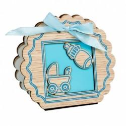 Cajitas para regalos bautizo