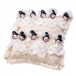 Cojines para alfileres de novia