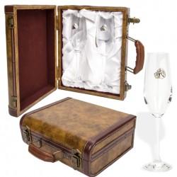 Copas de champán para boda