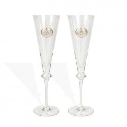 Copas de champán para novios