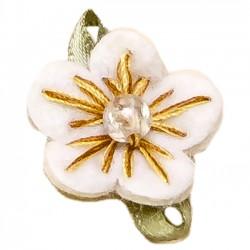 Detalles boda de oro. Pin flores - Bolsa 100 flores en colores surtidos
