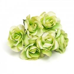 Detalles boda diferentes. Flores verdes