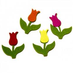 Detalles boda diferentes. Pin tulipán - Bolsa de 40 tulipanes