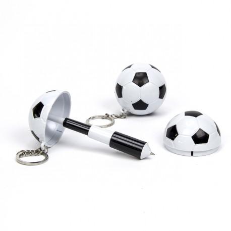 Detalles comunión de futbol. Bolígrafo balón
