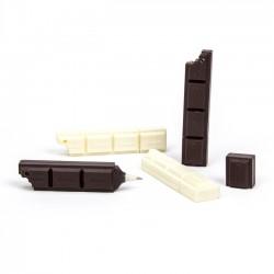 Detalles comunión dulces. Bolígrafo chocolate