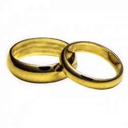 Detalles de boda para invitados. Pegatina alianzas