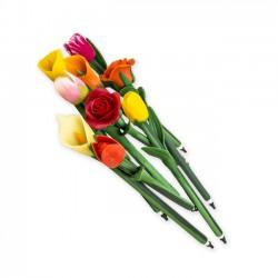 Detalles de boda. Bolígrafo flor
