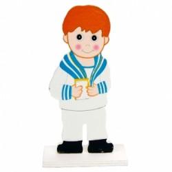 Figura tarta comunión niño