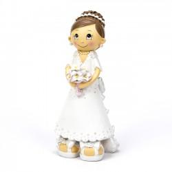 Figuras de tarta novia