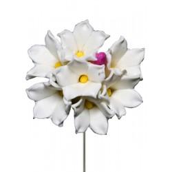 Alfileres de novia biznaga de flores