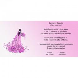 Invitación de bodas