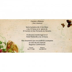 Invitaciones boda baratas