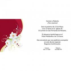 Invitaciones boda bonitas