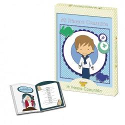 Libro de comunión niño