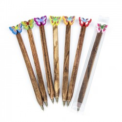 Bolígrafo regalo mariposa