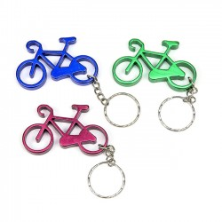 Regalos invitados para boda. Llavero bicicleta