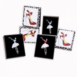Regalos originales para mujeres. Broche bailarina
