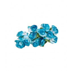Flores para decorar regalos - Color azul