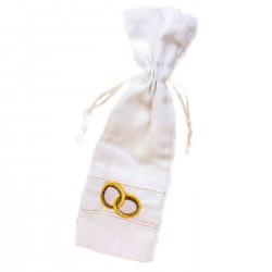 Bolsa para alianzas de boda